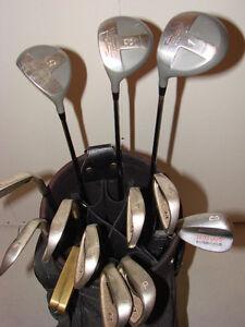 Men's Full Set Left Handed Golf Clubs & Bag