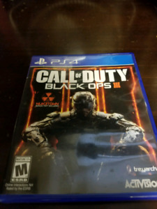 Call of Duty Blackops 3 PS4 Game