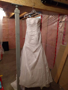 Brand new wedding dress and vail