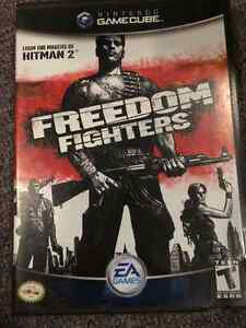 Freedom Fighters Game (Nintendo Gamecube)