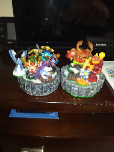 like new skylanders figures and 2 portals wired & wireless Cambridge Kitchener Area image 7