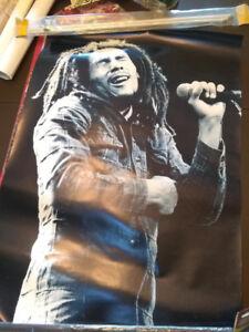 Large Bob Marley Poster