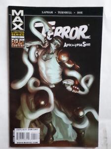 Terror Inc, Comic Book, en anglais, Max, 2$ chaque