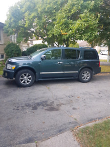 2004 Infinity QX56 4x4 heavy tow package