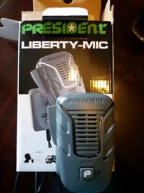 President liberty wireless microphone