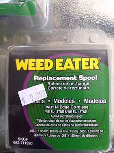 Weed eater spools