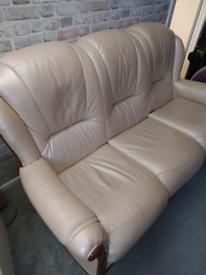 3 seater sofa- pearl