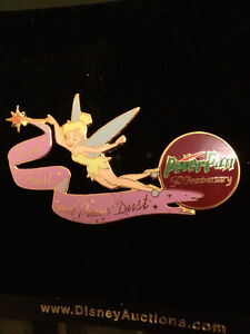 Disney Auctions Tinkerbell Peter Pan 75th Anniversary Rare Pin Kitchener / Waterloo Kitchener Area image 3