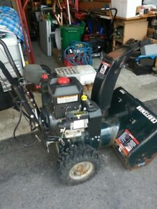 "Craftsman 13.5HP/ 24""  dual stage snow blower"