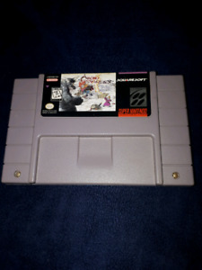 SUPER NINTENDO SNES CHRONO TRIGGER GREAT LABEL