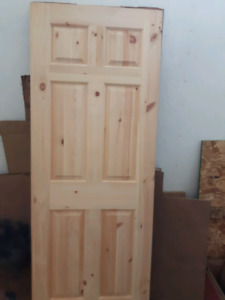 New. 80x30 solid pine