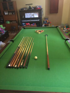 Pool Table 5x10 Slate