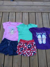 Girls 4-5 yrs summer clothes bundle