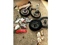 demon mini moto parts lot