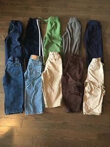 Boys 2T pants- 10 pairs for $30