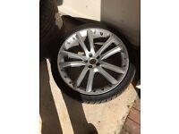 Jaguar XF 4x 20inch Alloy wheels