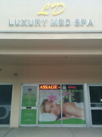 SPA Services on Special now for the whole month .