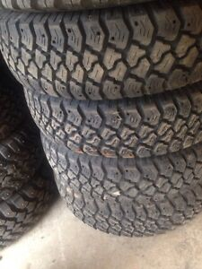 4-Goodyear workhorse 225/75/16 like new Peterborough Peterborough Area image 1