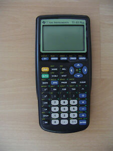 TEXAS INSTRUMENTS TI-83 PLUS GRAPHIC CALCULATOR