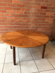 Vintage Teak Round Coffee Table  - Free Delivery!