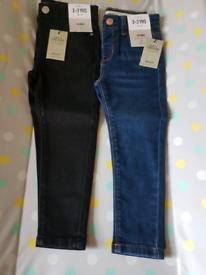 Brand new girls skinny jeans