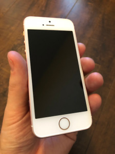 Unlocked iPhone SE - PRISTINE Condition - Rose Gold