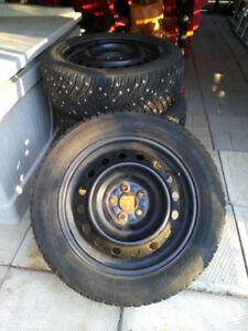 205/55R/16 Winter Tires & Rims
