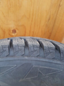 Like New - Bridgestone Blizzak DM-V2 225/65R17 102S on RIMs