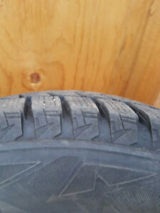Like New - Bridgestone Blizzak DM-V2 225/65R17 102S on RIMs
