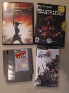 Video games, Nintendo, PS2