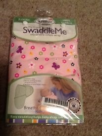 Swaddle me new