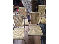 4 dining kitchen chairs available now