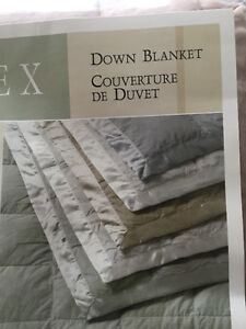 Queen Size Down Blanket - Moving Sale