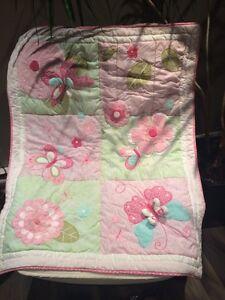 Literie pour bassinette pour bébé fille