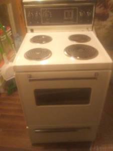Delivered fully functional electric Admiral stove
