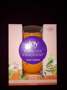 New Joy Mangano Orange Blossom Wax Warmer