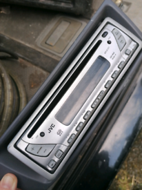 Car radio CD player. Jvc. Postage available