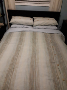 2 Double Duvet covers with Shams
