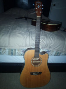 Electric Acoustic Guitar for 100