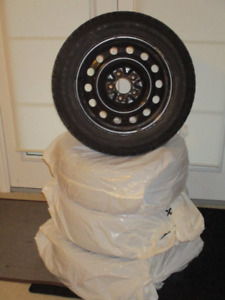 STEEL RIMS for snow tires (225/55/16) - $150 or BEST OFFER!