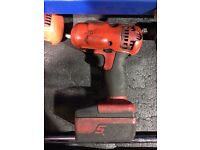 *Price Drop * Snap On 3/8 18 v lithium ion battery gun