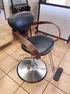 Salon chairs and sink