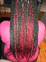 coiffeuse a fricaine experimentee