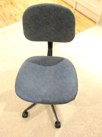 Small desk chair in good condition