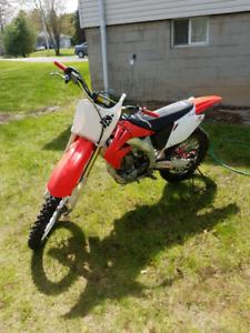 2002 crf 450R