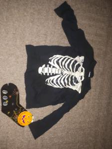 halloween shirt & socks