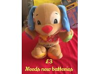 Fisher price puppy laugh and learn