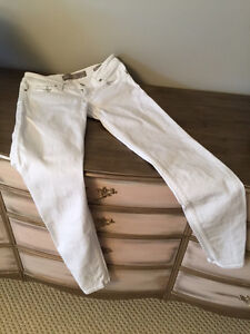 White Guess Power Skinny Jeans - Size 26
