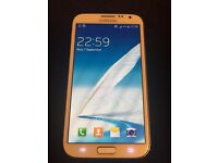Samsung galaxy note 2(16gb) unlocked (mint condition)