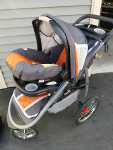 Car Seat And Jogging Stroller